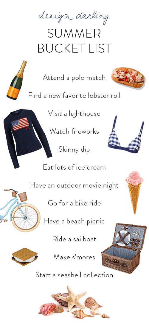 Design Darling Summer Bucket List Nantucket