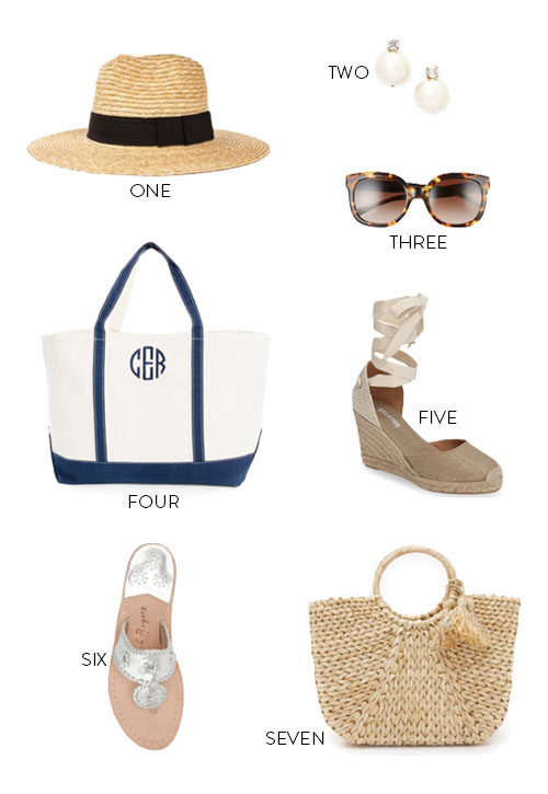 classic preppy accessories for summer