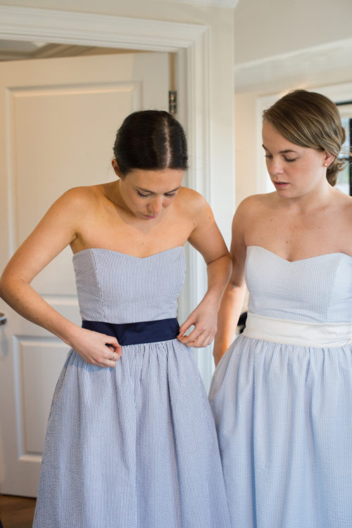 seersucker bridesmaids dresses by coren moore on design darling