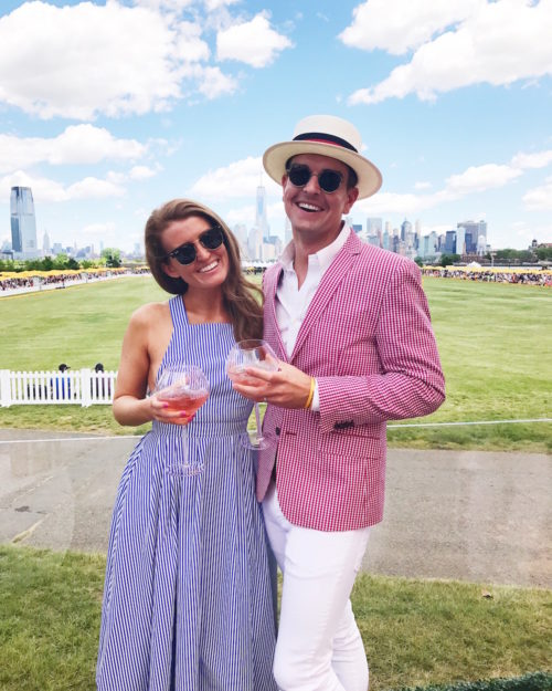 mackenzie horan and gray malin at veuve clicquot polo classic