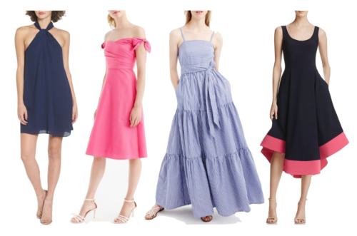 preppy dresses for wedding guests