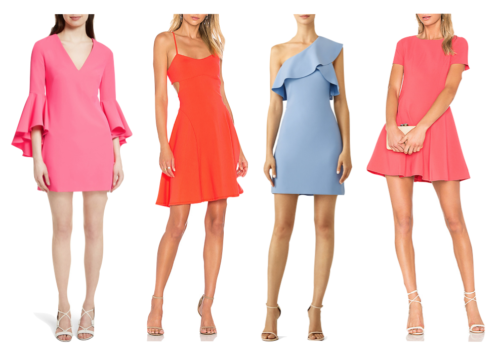 preppy wedding guest dresses