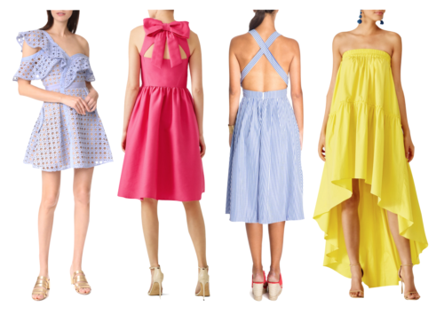 preppy wedding guest dresses on design darling