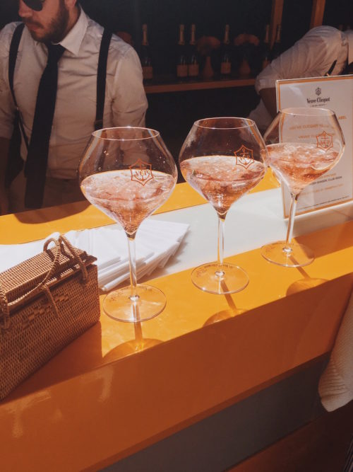 veuve clicquot polo classic and vintage wicker bag