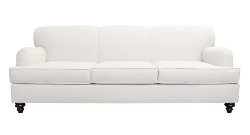 design darling roll arm sofa from overstock