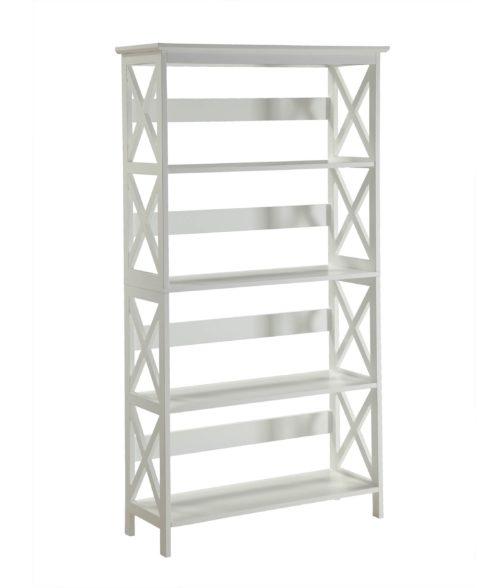 white x bookshelf overstock