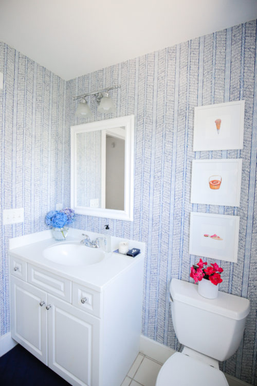 design darling bathroom wallpaper