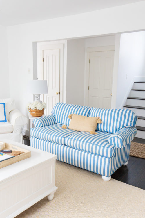 design darling striped sofas nantucket