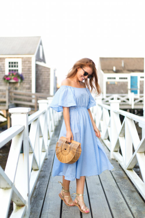 shopbop stylekeepers daisy chains dress and k. jacques lucile wrap sandals