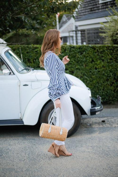 shopbop stylekeepers dream destination peplum top pamela munson agatha satchel loeffler randall piper wedges