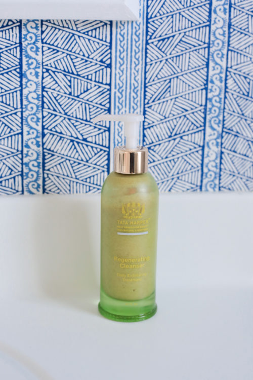 tata harper regenerating cleanser on design darling