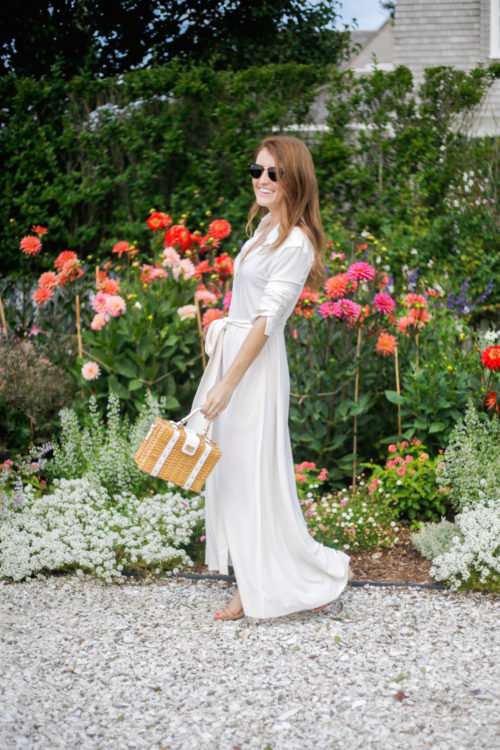 long white shirtdress by norma kamali on design darling