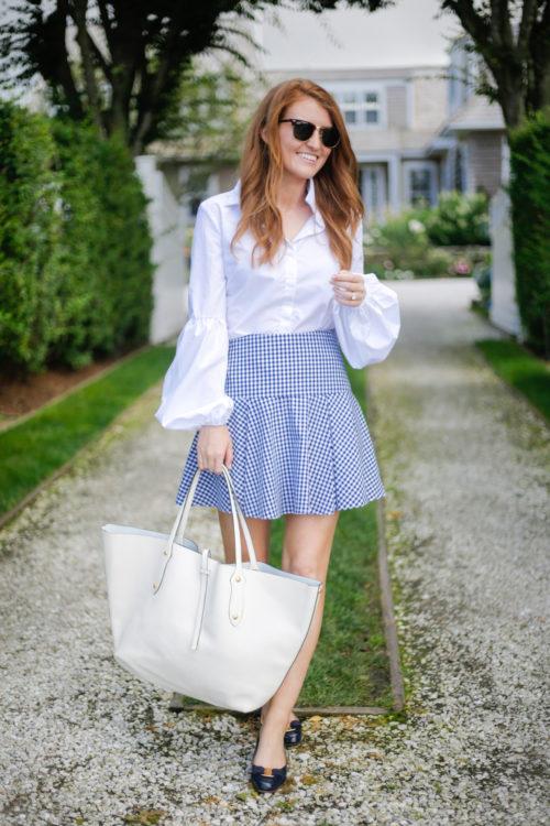 amanda uprichard gingham skirt on design darling