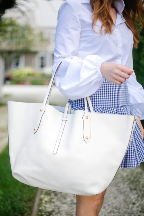 annabel ingall large isabelle tote in ivory