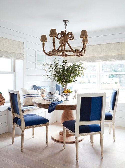 bright bazaar beach house dining room