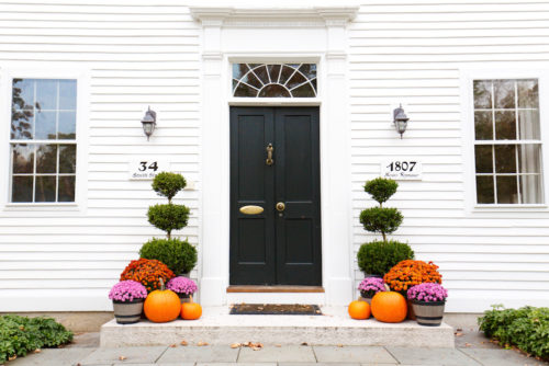 fall porch decor design darling