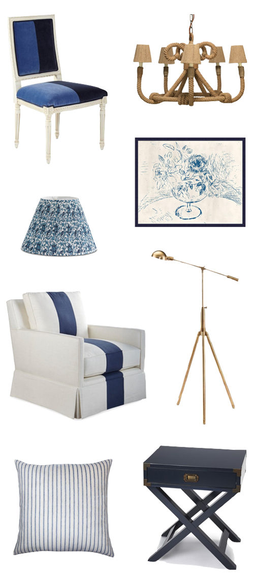 masculine nautical decorating style