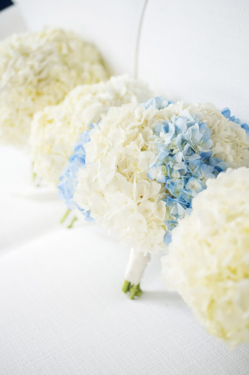 design darling hydrangea wedding bouquet