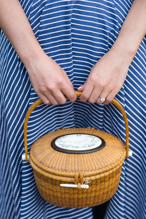 design darling lightship basket and engagement ring