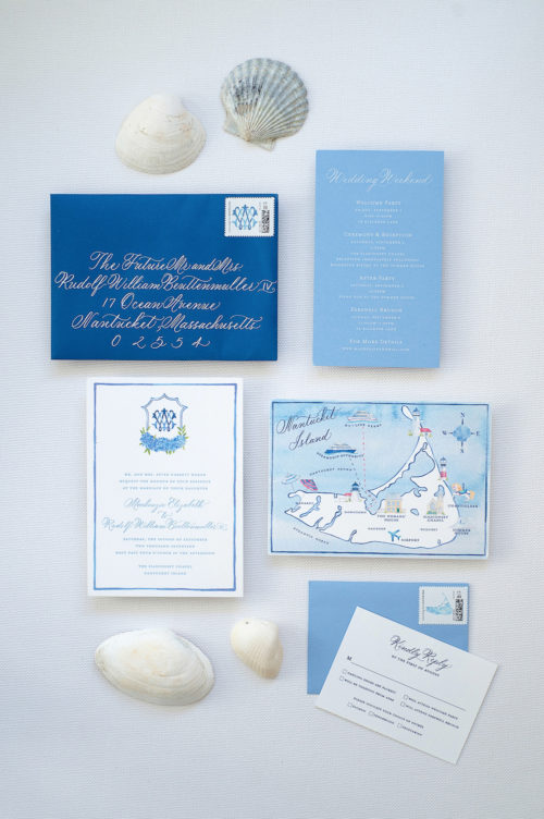 design darling nantucket wedding invitations