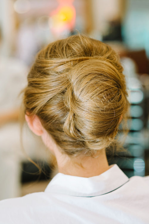 design darling wedding hair french twist