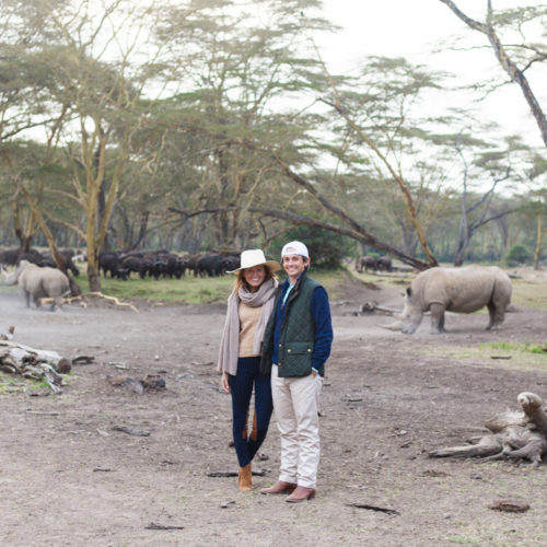 design darling safari with rhinos