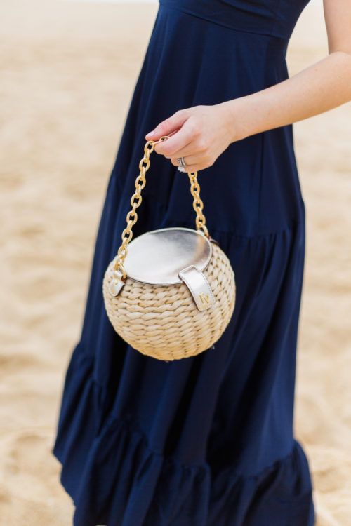 frances valentine honey pot straw bag