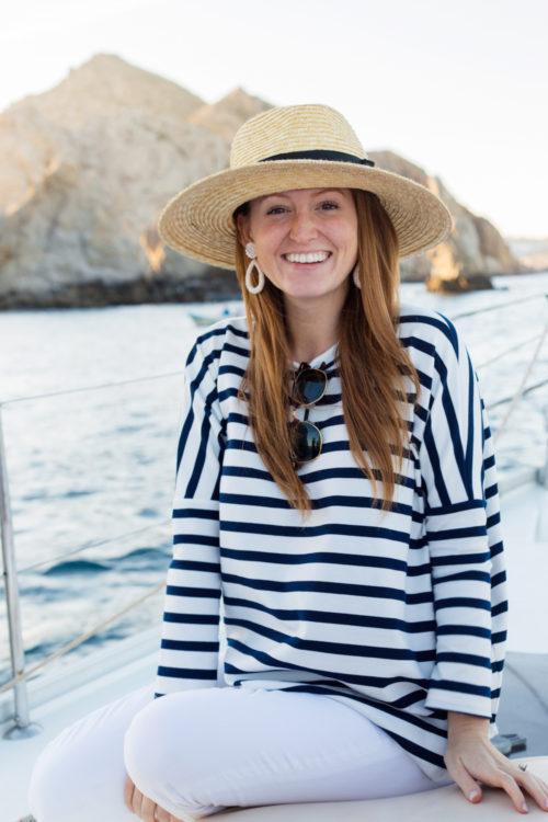 tuckernuck toss designs stripe swing sweatshirt