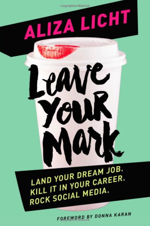 leave your mark by aliza licht book review