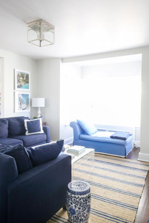 design darling living room progress
