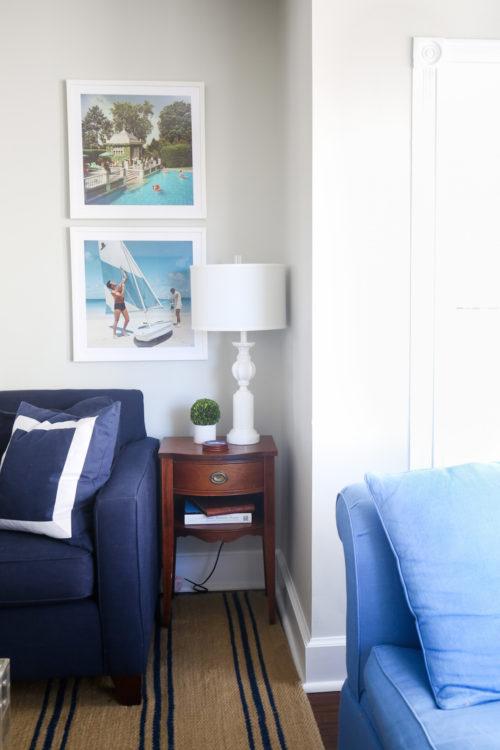 design darling living room progress photos