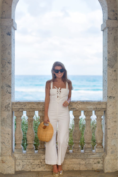 clayton-darcie-jumpsuit-and-j.mclaughlin-circle-wicker-bag