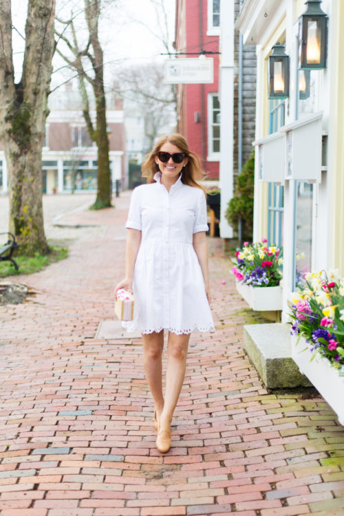 kate spade new york cutwork denim shirtdress on design darling
