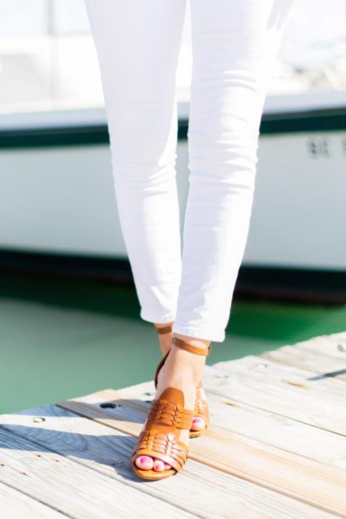 polo ralph lauren kierstin vachetta sandal on design darling