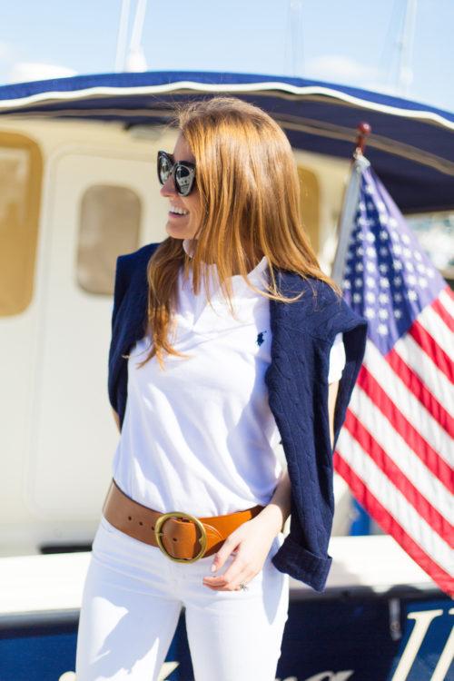 polo ralph lauren lennox vachetta wide belt on design darling