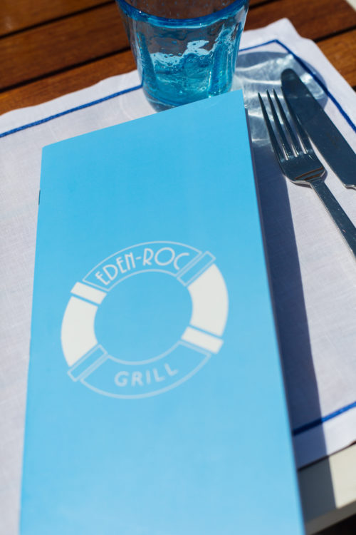 lunch at eden roc grill on design darling
