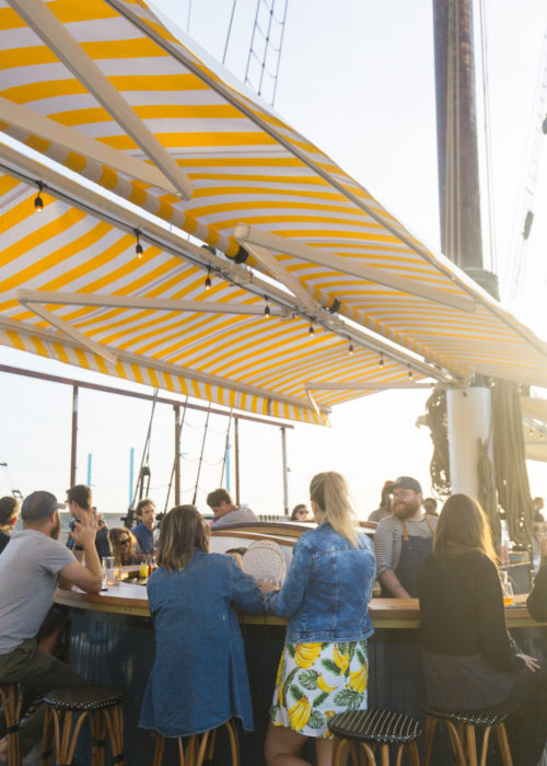 bar at pilot brooklyn