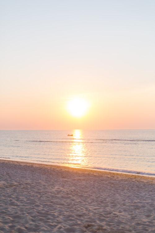 galley beach sunset nantucket