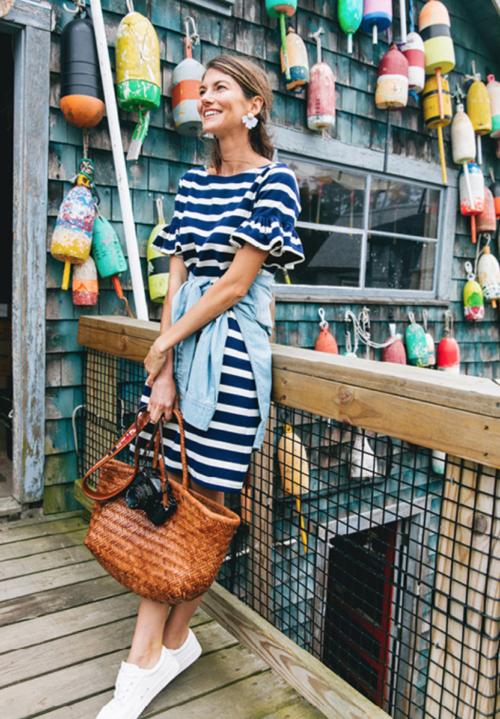 sail to sable watson striped dress on tuckernuck